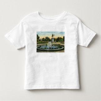Maid of the Mist Fountain, Washington Statue Toddler T-shirt
