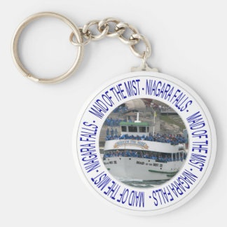 Maid of the mist - Niagara Falls Basic Round Button Keychain