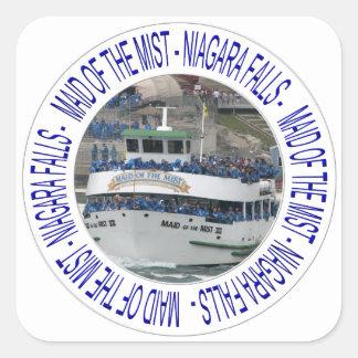Maid of the mist - Niagara Falls Square Sticker