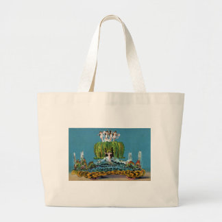 Maid of the Mist Parade Float Vintage Large Tote Bag