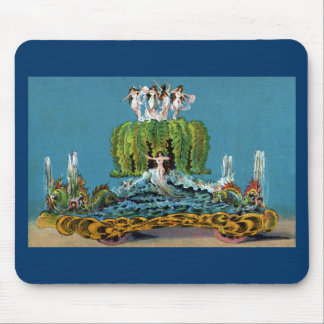 Maid of the Mist Parade Float Vintage Mouse Pad