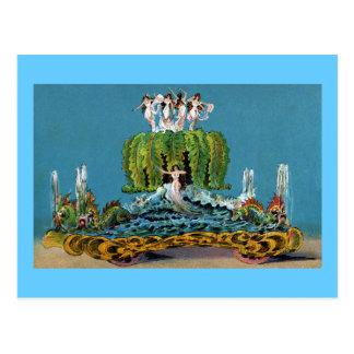 Maid of the Mist Parade Float Vintage Postcard