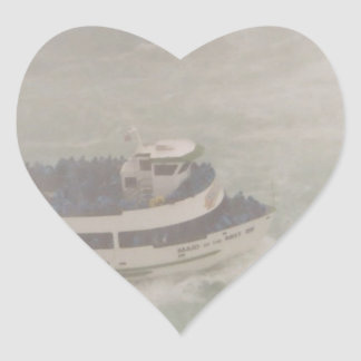 Maid of the Mist Heart Sticker