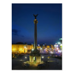 Maidan Nezalezhnosti, Kyiv Ucrania Tarjeta Postal