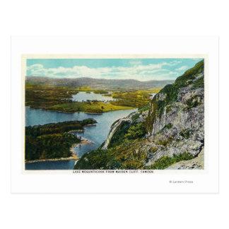 Maiden Cliff View of Lake Megunticook Postcard
