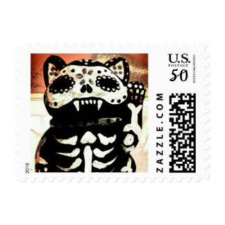 Maiden Hell Day of the Dead Custom Postage Stamp
