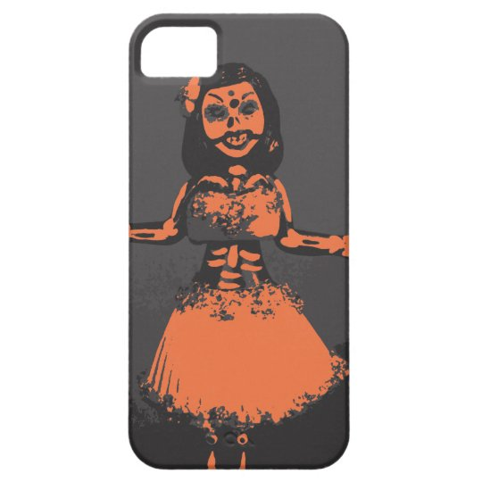 Maiden Hell Day of the Dead Hula iPhone 5 Case