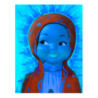 Maiden Hell Inc Baby Guadalupe Art Postcard