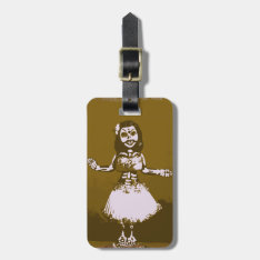 Maiden Hell Inc Day Of The Dead Luggage Tag at Zazzle