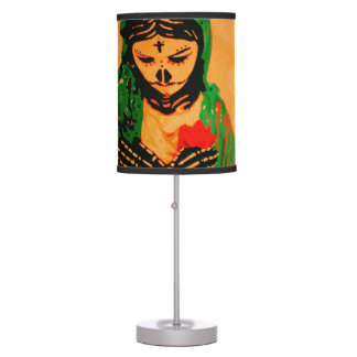 Maiden Hell Inc Day of the Dead Table Lamp