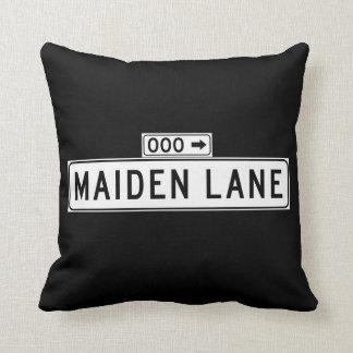 Maiden Lane, San Francisco Street Sign Pillow
