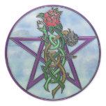 Maiden Mother & Crone Classic Round Sticker