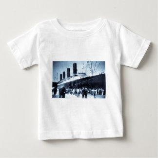 Maiden Voyage of RMS Lusitania, 13 Septemeber 1907 Baby T-Shirt