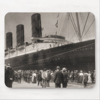 Maiden Voyage of RMS Lusitania, 13 Septemeber 1907 Mouse Pad