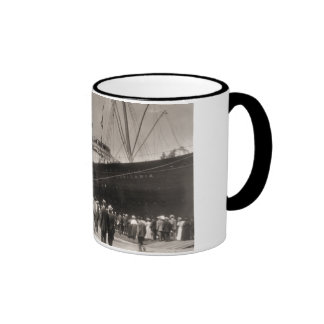 Maiden Voyage of RMS Lusitania, 13 Septemeber 1907 Coffee Mugs