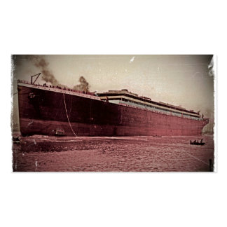 Maiden Voyage of RMS Titanic Double-Sided Standard Business Cards (Pack Of 100)