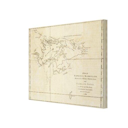 Maidenland de Hawkins, sonido de Malvinas Impresiones De Lienzo