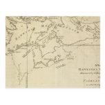 Maidenland de Hawkins, sonido de Malvinas Tarjetas Postales