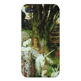 Maidens and Unicorns iPhone 4 Cover