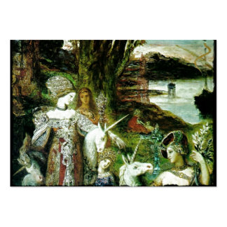 Maidens and Unicorns Large Business Card