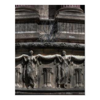 Maidens At The Pillar Card