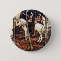 Maidens on White Horses Buttons