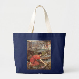 Maidens Picking Flowers by John William Waterhouse Bag