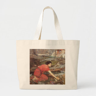 Maidens Picking Flowers by John William Waterhouse Canvas Bag