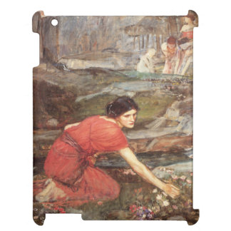 Maidens Picking Flowers by John William Waterhouse iPad Covers