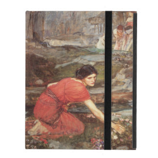 Maidens Picking Flowers by John William Waterhouse iPad Folio Case