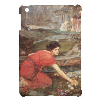 Maidens Picking Flowers by John William Waterhouse iPad Mini Covers