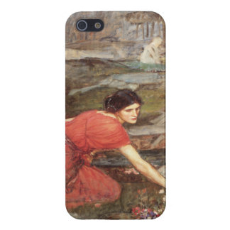 Maidens Picking Flowers by John William Waterhouse iPhone 5 Cover