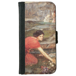 Maidens Picking Flowers by John William Waterhouse iPhone 6 Wallet Case