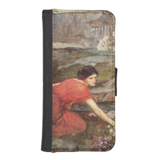 Maidens Picking Flowers by John William Waterhouse iPhone 5 Wallet Cases