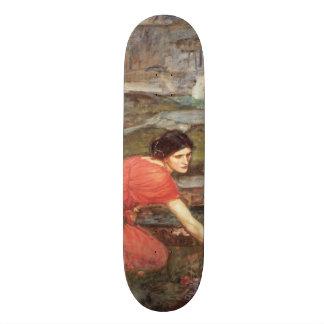 Maidens Picking Flowers by John William Waterhouse Skateboard Deck