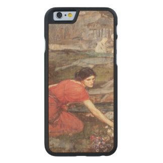 Maidens Picking Flowers by John William Waterhouse Carved® Maple iPhone 6 Case