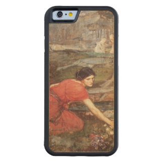 Maidens Picking Flowers by John William Waterhouse Carved® Maple iPhone 6 Bumper Case