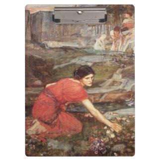 Maidens Picking Flowers by JW Waterhouse Clipboards