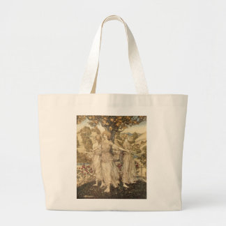 Maidens Ring a Citrus Tree Large Tote Bag