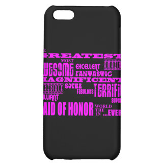 Maids of Honor Fun Gifts : Greatest Maid of Honor Cover For iPhone 5C