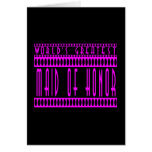 Maids of Honor Gift World's Greatest Maid of Honor Greeting Card