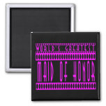 Maids of Honor Gift World's Greatest Maid of Honor Refrigerator Magnets