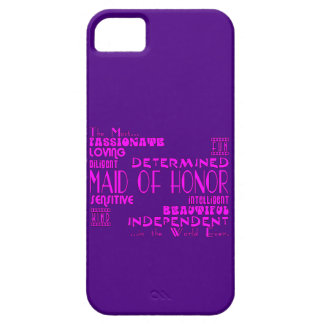 Maids of Honor Wedding Party Favors : Qualities iPhone SE/5/5s Case
