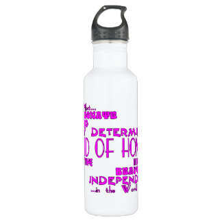 Maids of Honor Wedding Party Favors : Qualities Water Bottle