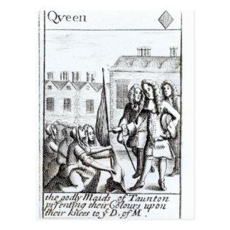Maids of Taunton Kneeling before Duke of Postcard