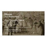 Maids to Order, by 'Russell Bro' Retro Theater Business Card Templates