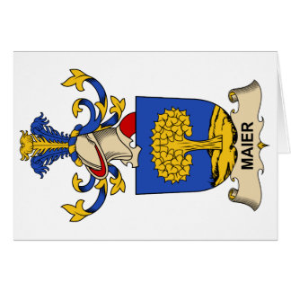 Maier Family Crest Cards