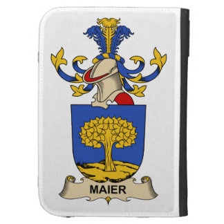 Maier Family Crest Kindle 3 Cases
