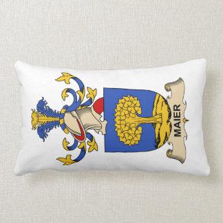 Maier Family Crest Pillows
