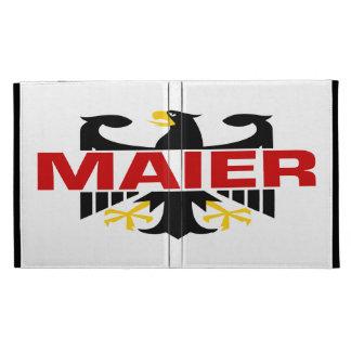 Maier Surname iPad Folio Covers